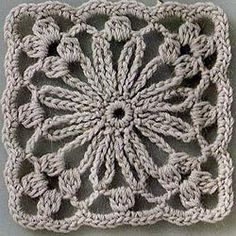 Transcendent Crochet a Solid Granny Square Ideas. Inconceivable Crochet a Solid Granny Square Ideas. Crochet Motifs, Granny Square Crochet Pattern, Crochet Blocks, Crochet Squares, Crochet Stitches, Crochet Diagram, Crochet Crafts, Crochet Yarn, Crochet Projects