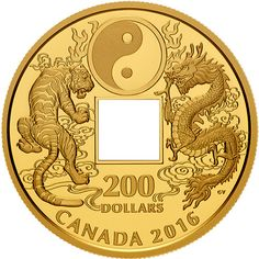 2016 Canadian Gold Tiger and Dragon Yin and Yang Coins from JMBullion™