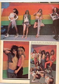 The 70's groupies