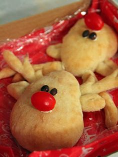 Rudolph The Red Nose Reindeer Bread