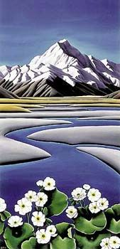 Mt Cook by Diana Adams for Sale - New Zealand Art Prints