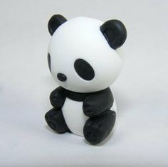 Panda Bear Japanese Eraser. 2 Pack. Volume 2. Black by PencilThings. $2.00. Non Toxic. IWAKO erasers.. Available in a variety of colors.. Take-apart erasers and put them back together again and again!. Take-apart erasers and put them back together again and again!  Mix and match colors to create your own unique colors.  The take-apart function only works with erasers with more than one color.  Non-Toxic. IWAKO