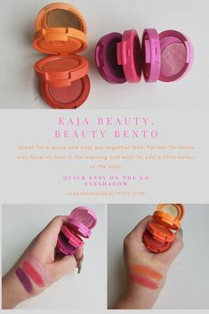 No time to get ready and do your makeup? Check out these Beauty Bento Eyeshadow Trios to see if its what you need and will work for you. Skincare Blog, Korean Beauty, Bento, Makeup Yourself, Work On Yourself, Eyeshadow, Skin Care, Check, Beauty Products