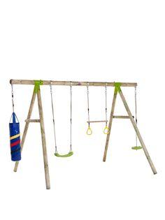 Garden Swing Sets, Wooden Garden Swing, Single Swing, Pressure Treated Timber, Rope Swing, Swing Seat, Blow Molding, Plastic Molds, Wooden Bar