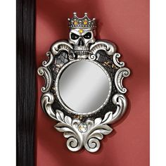 Design Toscano The Fairest One of All Wall Mirror -- I'd put this in a half bath/powder room