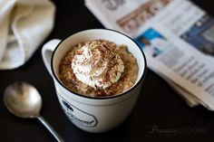 A funPressure Cooker Vanilla Latte Steel Cut Oats recipewith the flavors of a popular coffee drink in a good for your hearty breakfast. Recently, I saw Foxes Loves Lemons recipe for Vanilla Bean Latte Overnight Old Fashioned Oats on Instagram. I loved the ideaand couldn't resist turning it into a pressure cooker steel cut oats …