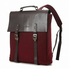 Tidy Business Backpack Color: Wine van BokzimBag op Etsy