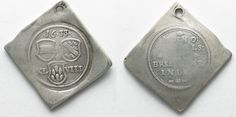 1633 Breisach BREISACH 48 Kreuzer 1633 SIEGE silver RARE!!! # 95199 VF