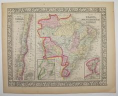 brazil map images about z on pinterest image search south america ...