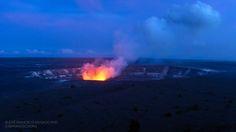 Kīlauea Caldera at twilight | by josefrancisco.salgado
