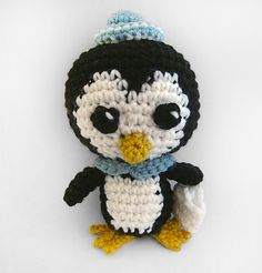 Ravelry: Peso the Penguin pattern by Van Vuong