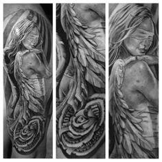 Tattoo by Noah Minuskin at Lowrider Tattoo in Fountain Valley, CA