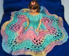 Ladyfingers - Barbie - Knit Bed Doll Dress