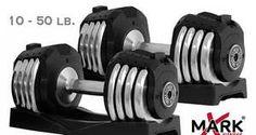 XMark 50 Lb Adjustable Dumbbells Cheap & Huge Discount $140.49 ( Discount $75 ) http://adjustabledumbbells.biz