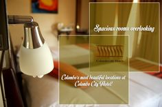 Spacious rooms overlooking one of Colombo's most beautiful locations at Colombo City Hotel!