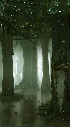 51 Enigmatic Forest Concept Art that will amaze you - Scenery -. - 51 Enigmatic Forest Concept Art that will amaze you – Scenery – # - Fantasy City, Fantasy Places, Fantasy World, Fantasy Concept Art, Fantasy Artwork, Alien Concept, Environment Concept, Environment Design, Cave City