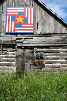 Door County Quilt Barn, via Flickr.