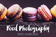 Food Photography Lightroom Presets by BeArt-Presets on @creativemarket Best professional lightroom presets packs for more modern and trendy style in your photography. Perfect for portrait, wedding, landscape, urban, travel, creative, blogging.