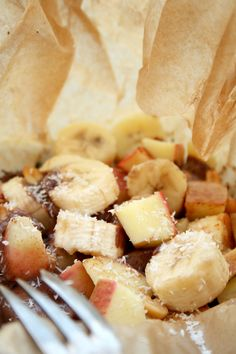 Süße Grillpäckchen