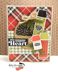 card cocoa coffee mocca latte cafe au lai thermo - Kathy Schweinfurth for National Cocoa Day - Coffee Loving Cardmakers - thermos stamps/dies from Papertrey Ink Cozy Christmas, 12 Days Of Christmas, Christmas Themes, Holiday Fun, Christmas Cards, Winter Coffee, Coffee Cards, I Card, Hot Chocolate