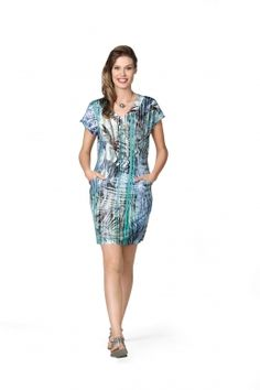 Kurzkleid Modee Dress Tropical print and colours