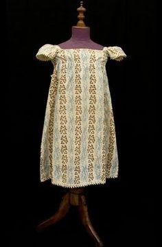 children's shoes 1830   Regency era girl's dress C. 1810 Vintage Textiles