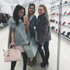 "Gabriella DeMartino on Instagram: ""mall day with the girls #vsquad"""