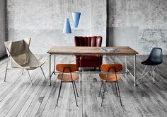 Vintage Möbel in Kombination mit modernem Design