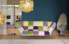 Meble nowoczesne z salonu HEBAN – stylowe włoskie sofy