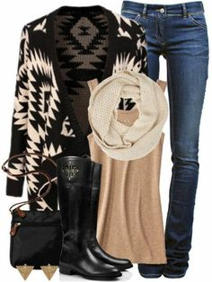 Winter Tribal Outfit <3