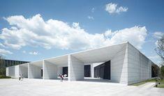 Gmp Architekten - Von Gerkan, Marg und Partner, Christian Gahl · Huawei Technological Factory Buildings