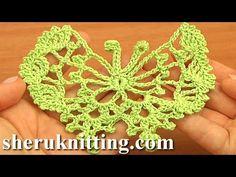 Crochet Butterfly Free Pattern Tutorial 17 How to Crochet Butterflies - YouTube