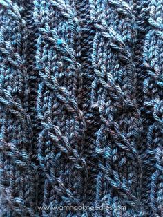 The Triple 'T' Knit Stitch - The Twisted Trill with FREE Pattern Link