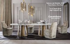 WELCOME !!! Casamilano at SALONE INTERNAZIONALE DEL MOBILE,  Milan 12/17 April 2016 Hall 5 Stand F-09 #isaloni2016 #milandesignweek2016 #salonedelmobile