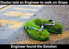 Engineers always have a solution, even if it's not the most adequate!  Get latest tech news«