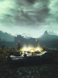 The necromancers table