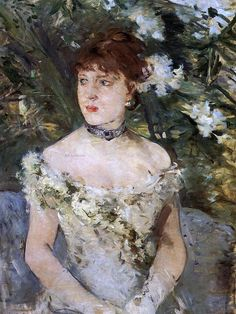 """One of """"les trois grandes dames"""" of Impressionism alongside Marie Bracquemond and Mary Cassatt, French painter Berthe Morisot was a painter and a member of the circle of painters in Paris who became known as the Impressionists. Famous Impressionist Paintings, Julie Manet, Berthe Morisot, Post Impressionism, French Artists, Beautiful Paintings, Young Women, Female Art, Art History"""