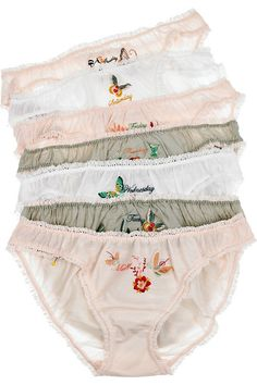 "Stella McCartney's ""Flowers of the Week"" panties"
