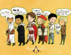 chibi's creed by coeforoi.deviantart.com || *gasps* Look at their cute little feet (◜•ˇ▿ˇ•)◜♥