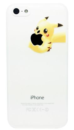 Coque iPhone 4 4S 5 5S 5C 6 6 Plus Pikachu Pokemon Transparente Apple Pokemon