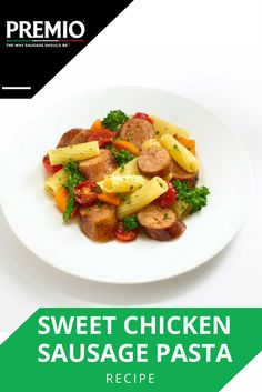 recipe: premio chicken sausage with kale [31]