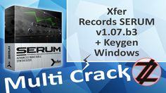 Xfer Records SERUM v1.07.b3 + Keygen (Windows) Direct Download Here http://multicrackk.blogspot.com/2015/10/xfer-records-serum-v107b3-keygen-windows.html
