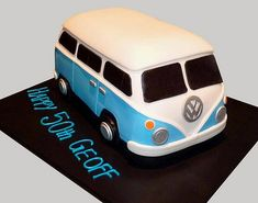 Kombi Birthday Cake