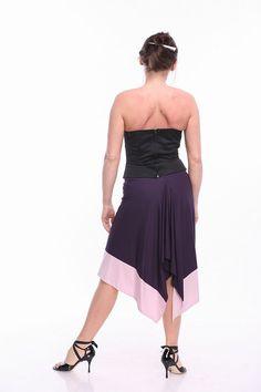 Tango Skirt Arlette Tango Clothes in Custom Color Tango