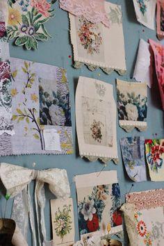 the linen garden ~ The Inspiration board
