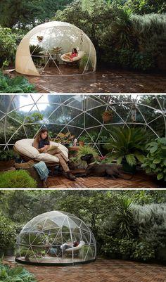 Create A Cozy Room In Your Backyard With A Garden Igloo