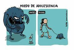 Miedo de adolescencia