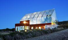 Uppgrenna naturhus - living in a greenhouse