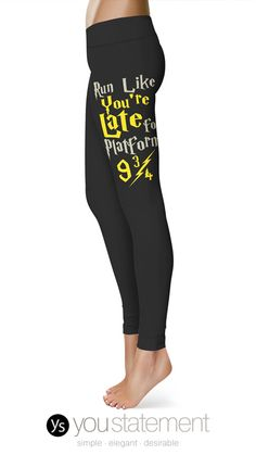 YouStatement's Womens Leggings are comfortable, great for the gym, for running, or simply for around the house! Now 50% Off!
