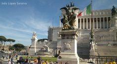 Vittoriano, Rome. By Inês Lopes Saraiva - #romeandI